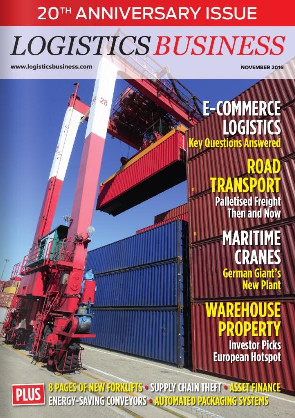 Logistics BusinessNovember 2016