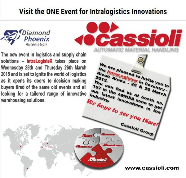Logistics BusinessVisit the ONE Event for Intralogistics Innovations