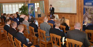 Logistics BusinessWITRON presents BOS system to international audience
