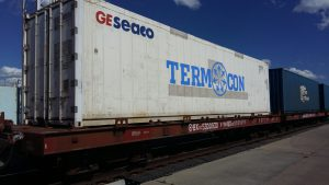 Logistics BusinessJSC RZD Logistics implements a new technology of railway transportation of perishable goods from China to Russia