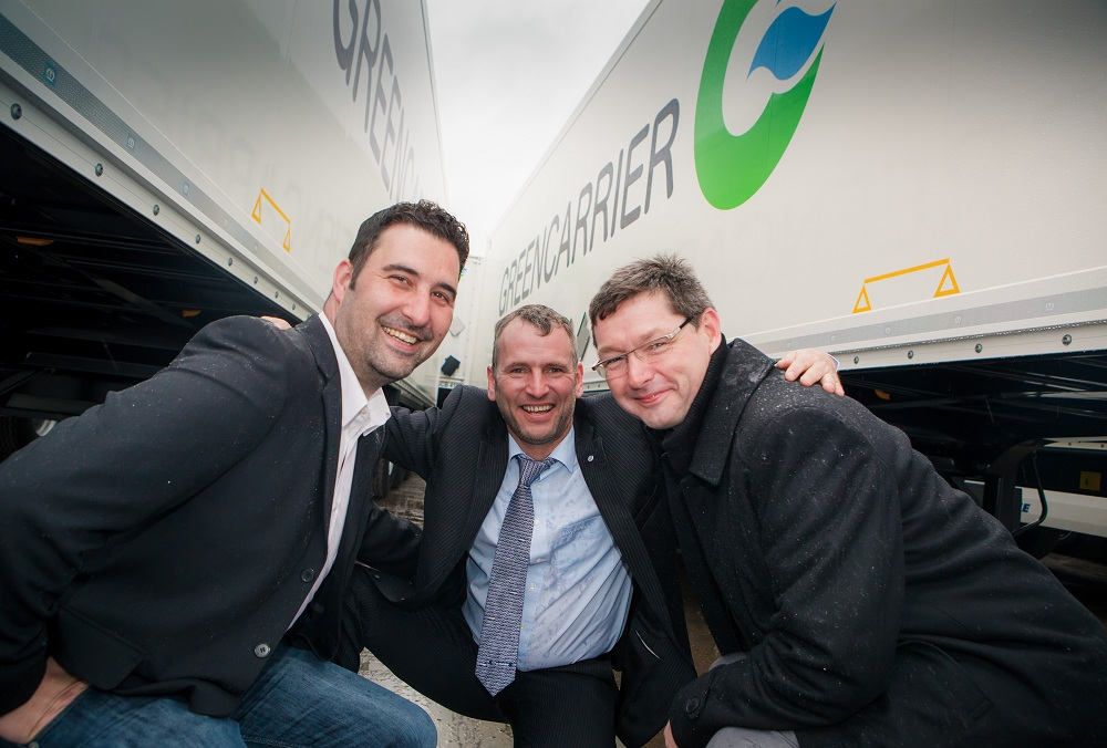 Logistics BusinessGreencarrier work with Krone and TIP to expand Pan-European fleet
