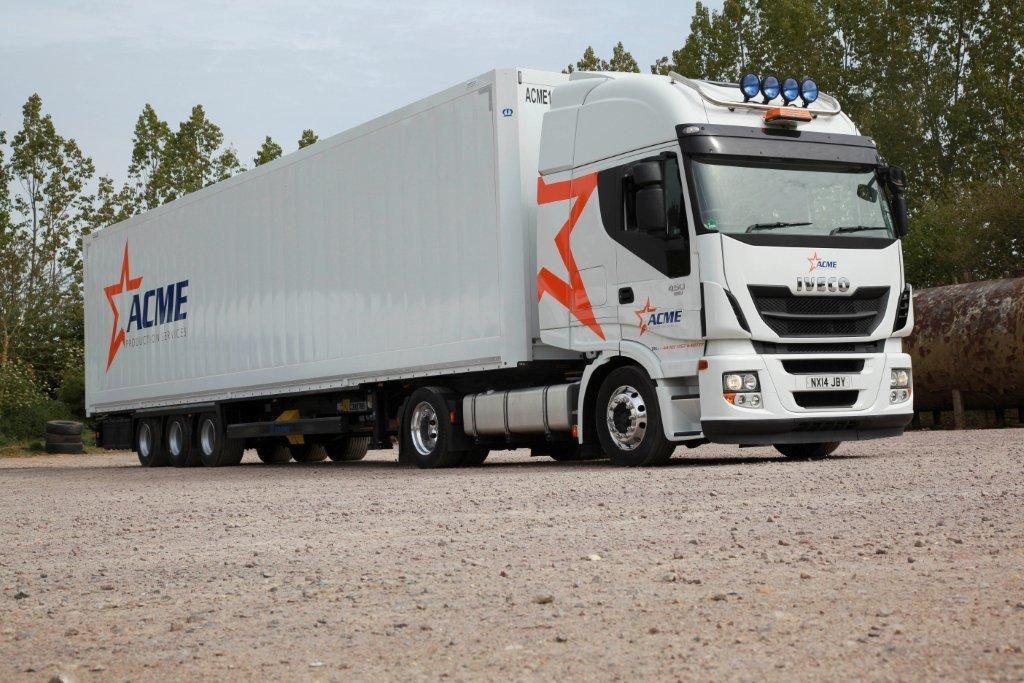 Logistics BusinessKrone provide secure Dry Liner loading for high value ACME cargo