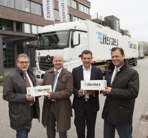 Logistics Business1000 Krone swap containers for Hermes via Seaco
