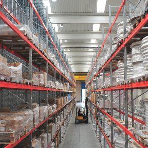 Logistics BusinessAR Racking installs a new warehouse for Leku-Ona