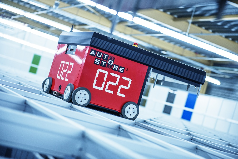 Logistics BusinessEgemin Installs First AutoStore System in Belgium