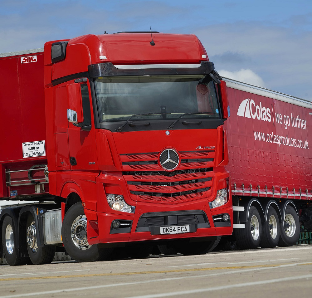 Logistics BusinessMercedes-Benz Actros adds up for Ashley