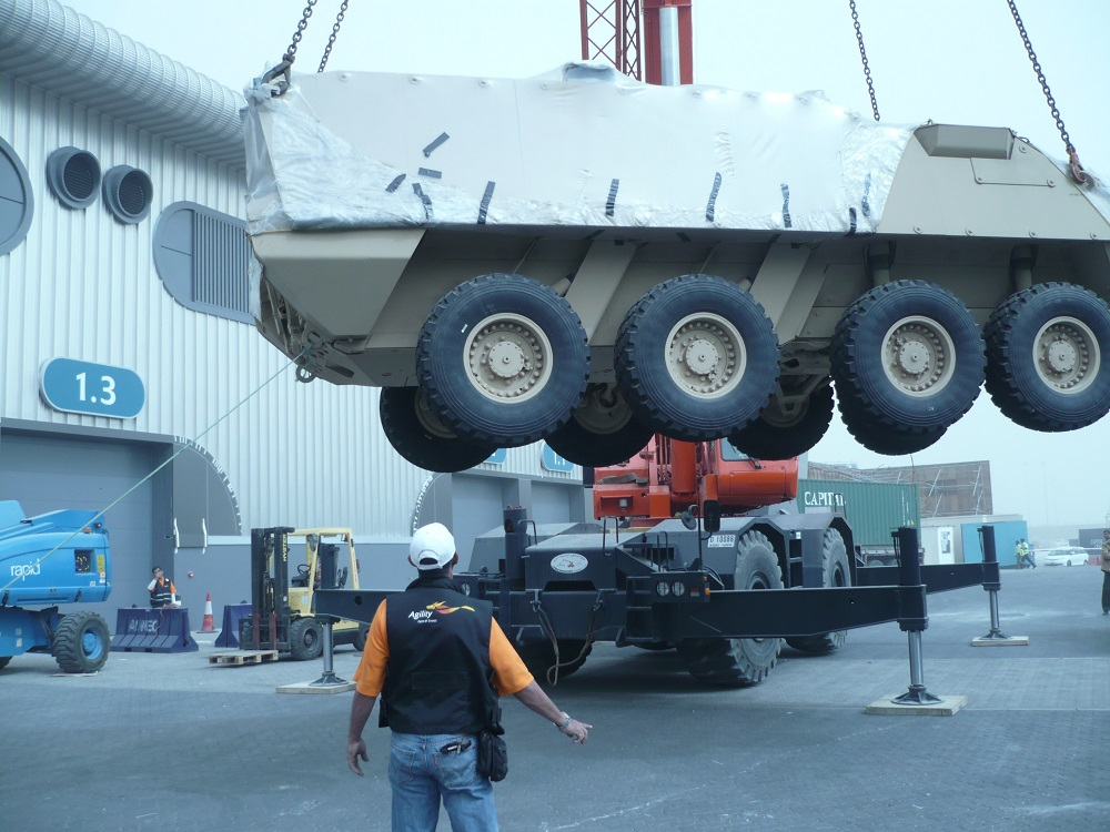 Logistics BusinessAgility Wins Contract for Three Major Defense Shows in UAE