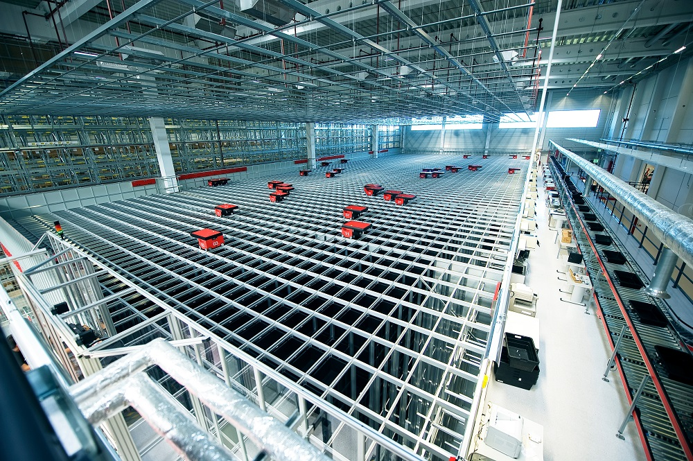 Logistics BusinessActive Ants doubles storage space in new warehouse with Egemin's AutoStore system