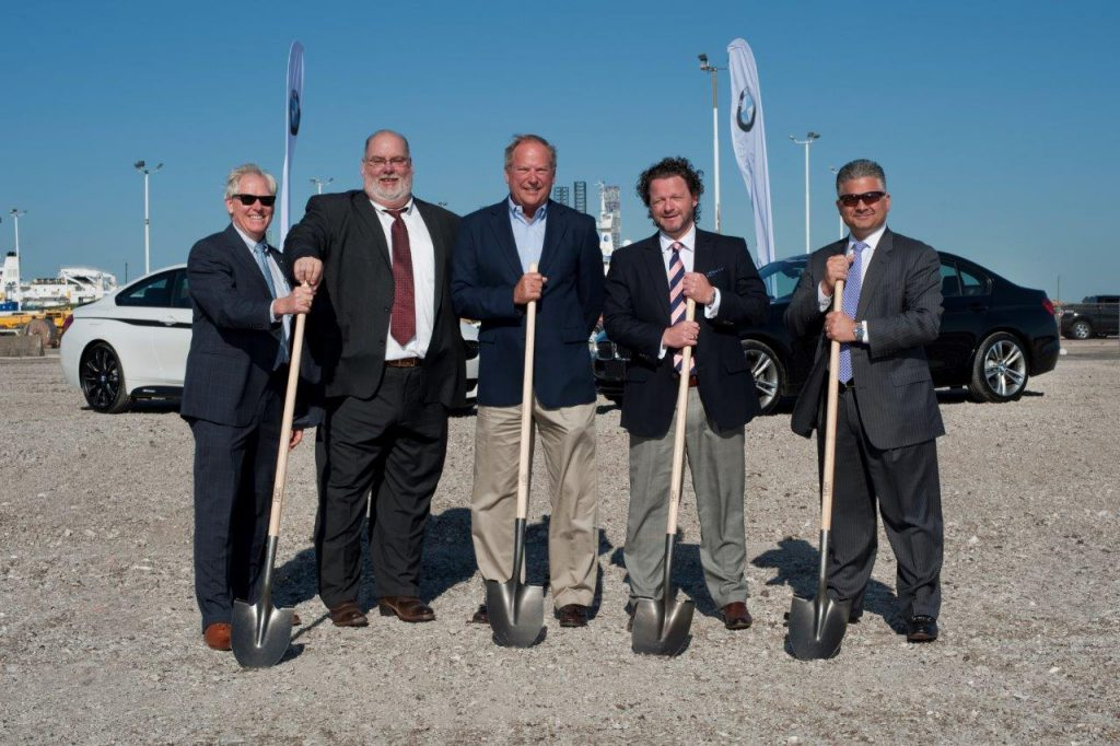 Logistics BusinessBMW Group Breaks Ground on New Port Facility in Galveston, TX