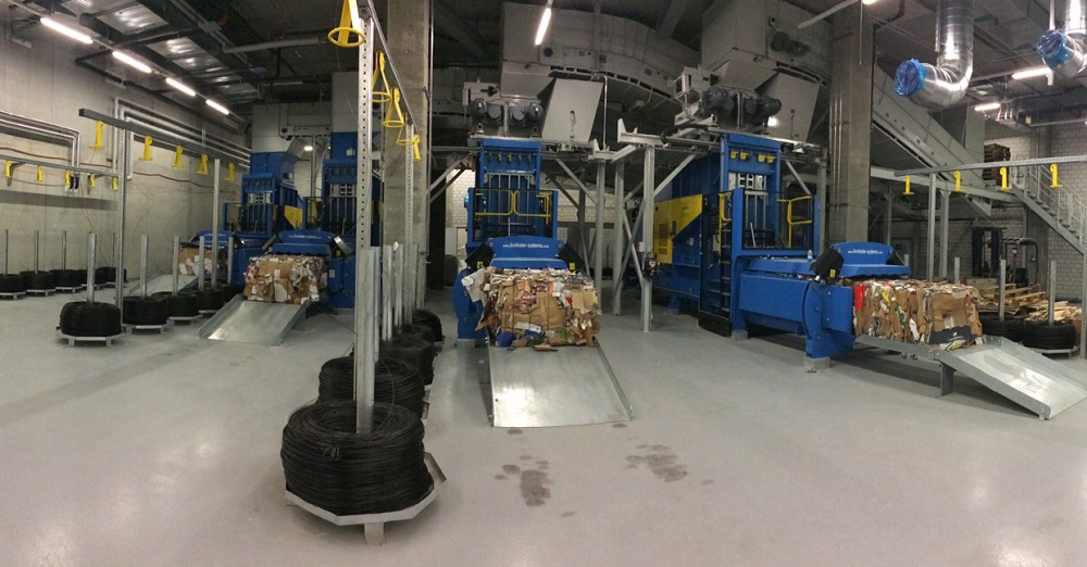 Logistics BusinessNew Balers For Swiss Retailer Recycling