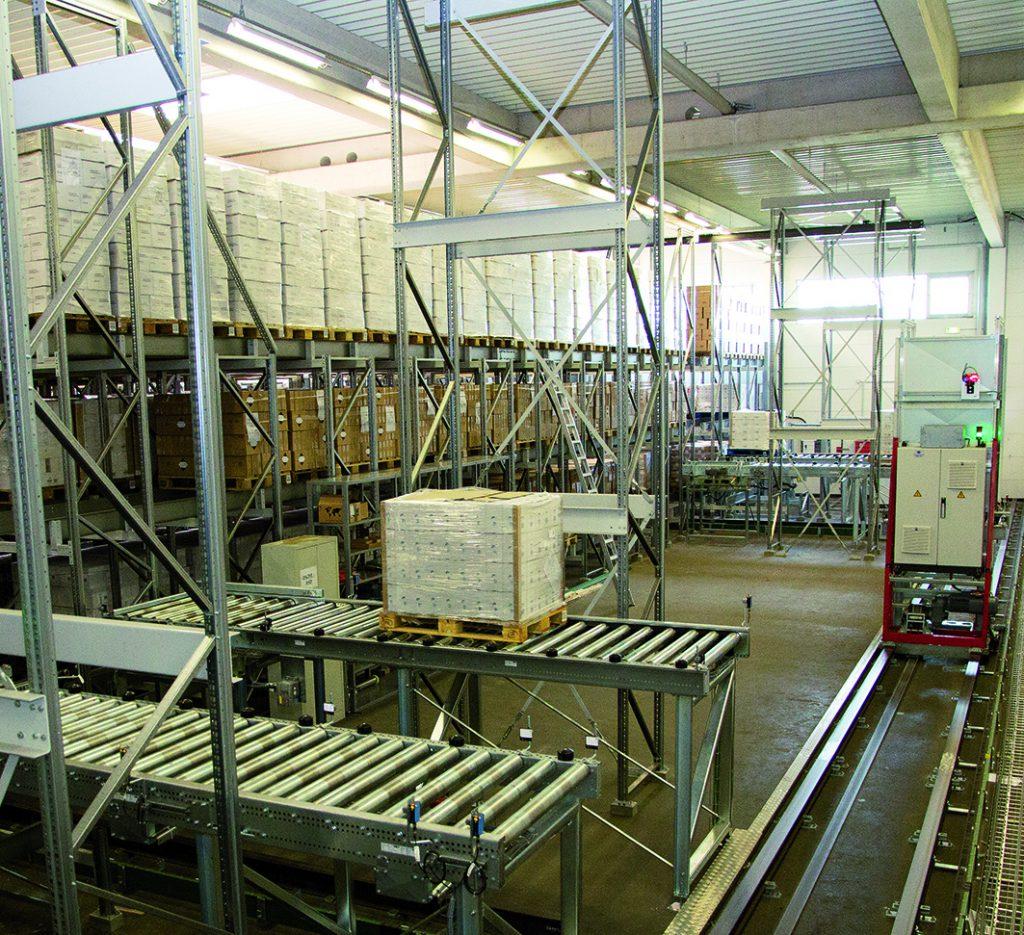 Logistics BusinessChannel storage system for Delta Pronatura