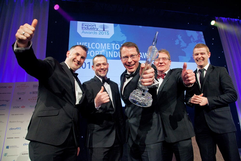 Logistics BusinessCombilift Wins Irish Exporter of the Year Award for a second time