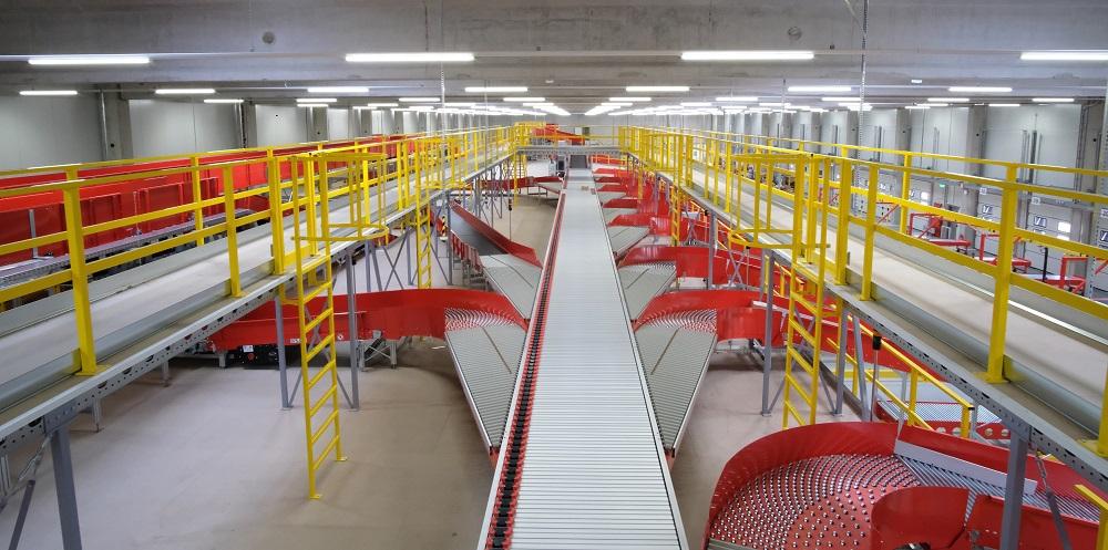 Logistics BusinessDHL Opens New VanRiet Modular Sorter at Hanover Hub