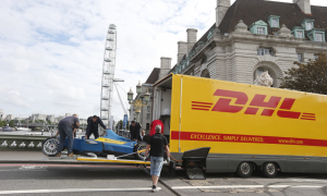 Logistics BusinessDHL delivers electric racing cars to London