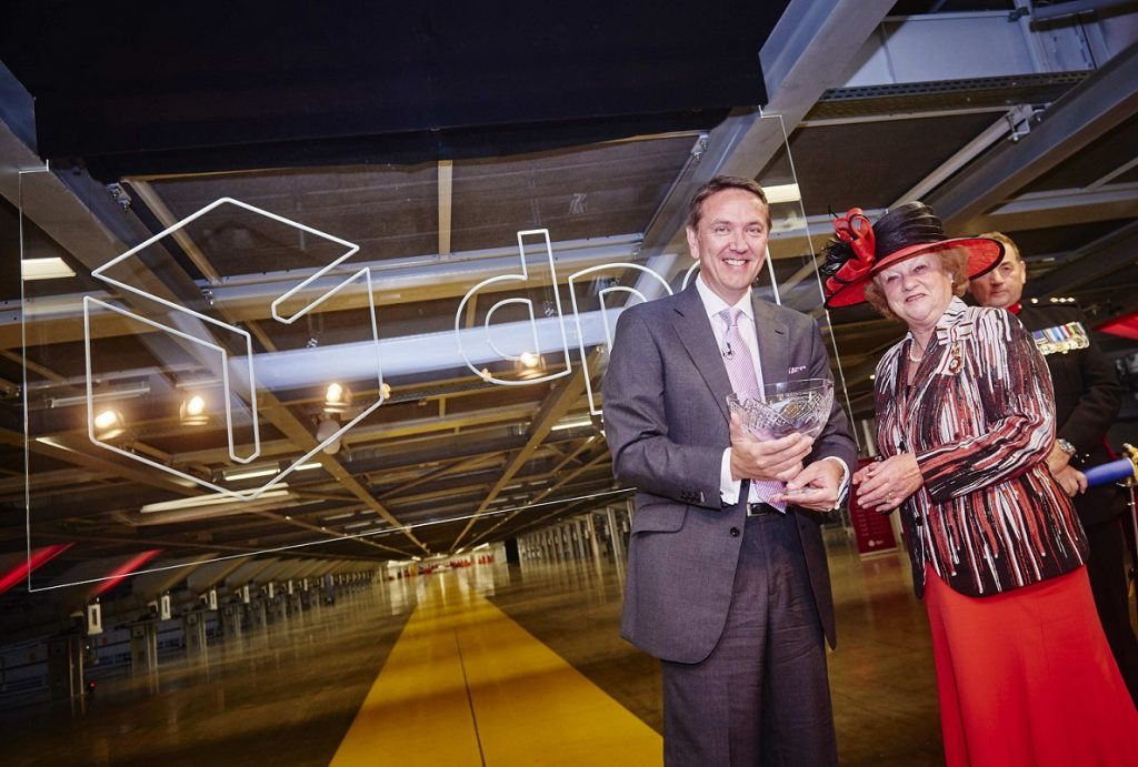 Logistics BusinessEurope's largest parcel hub officially opened ahead of 2015 peak