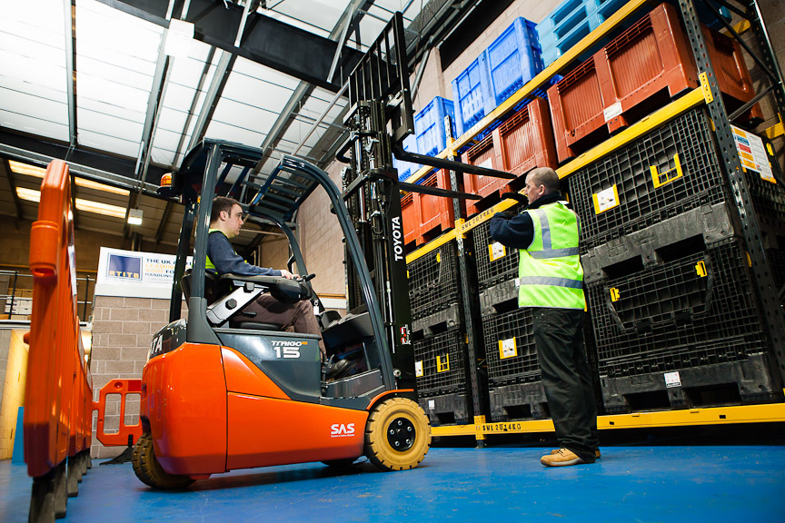 """Logistics Business""""'Casual' forklift training poses serious risk to businesses"""" warns RTITB"""