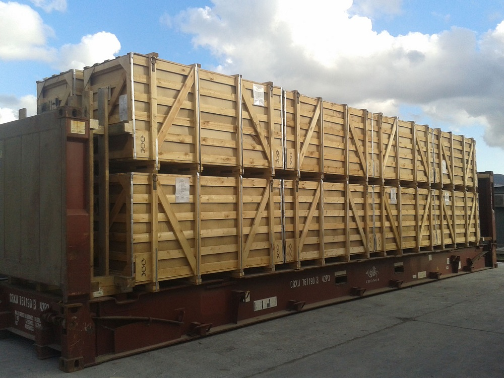 Logistics BusinessGCS Group handles growing volumes  of Russian project cargo exports