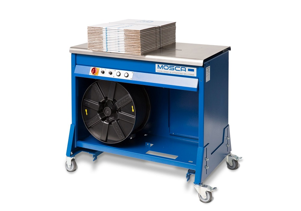 Logistics BusinessNew entry-level solution: Mosca introduces MO-M-8 semi-automatic strapping machine