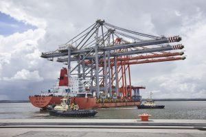 Logistics BusinessGiant Cranes Arrive at London Logistics Hub