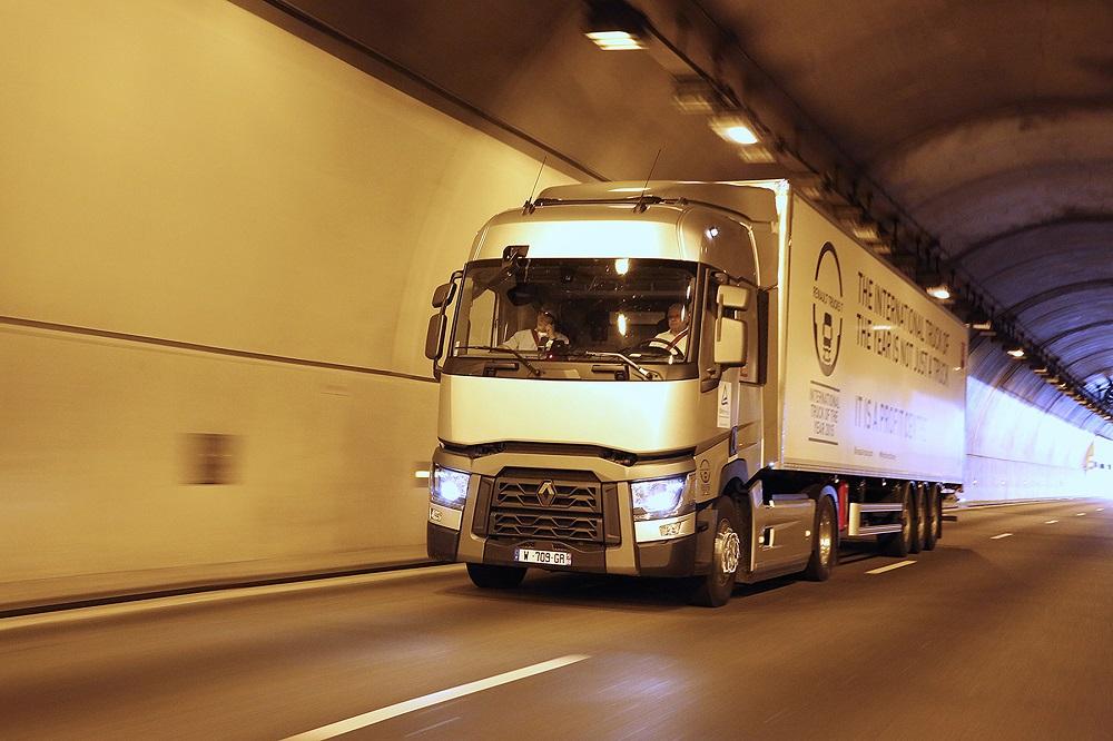 Logistics BusinessRenault Range T Optifuel Delivers 10.9% Fuel Saving Independently Certified By Tuv Rheinland