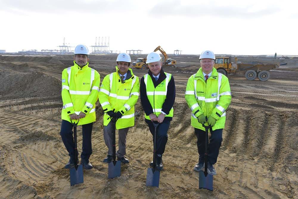 Logistics BusinessGROUND-BREAKING CEREMONY MARKS START OF WORK ON JOINT VENTURE BETWEEN DP WORLD AND PROLOGIS
