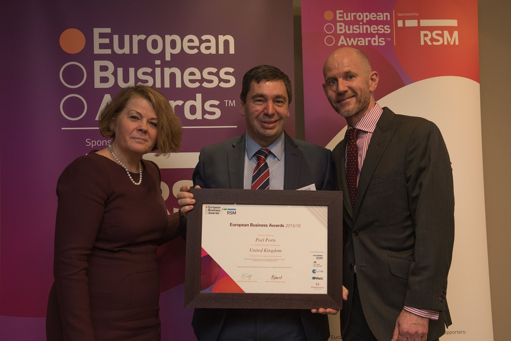 Logistics BusinessPort Operator Shortlisted For European Business Awards