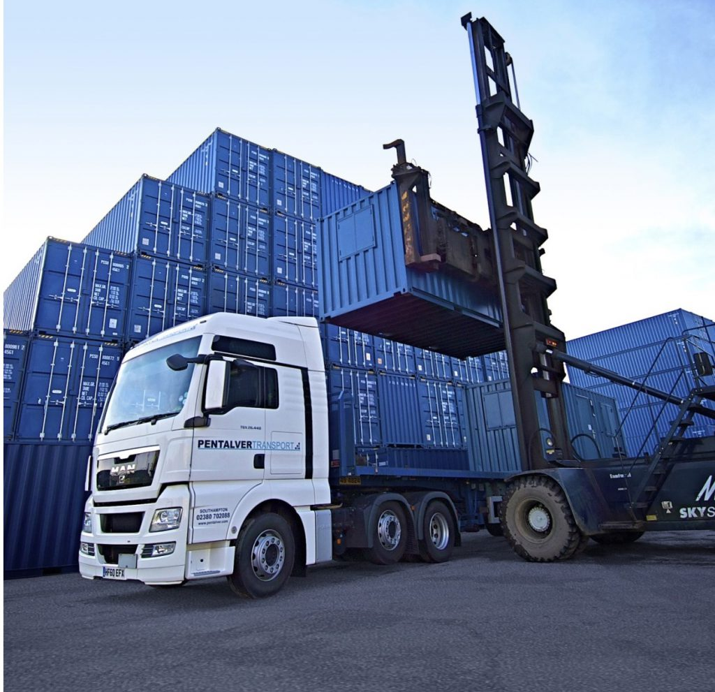 Logistics BusinessPentalver opens permanent container services  facility at the UK's newest container port