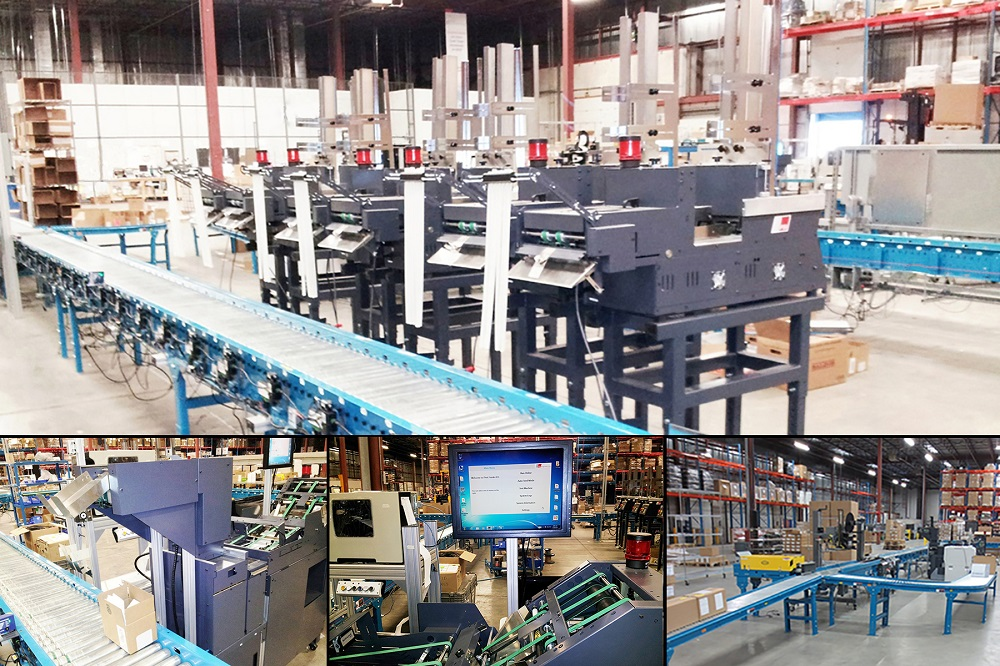 Logistics BusinessPSI Awarded Patent for E-Commerce Order Sorting System
