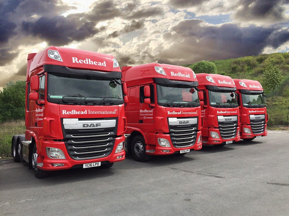 Redhead international haulage obvious