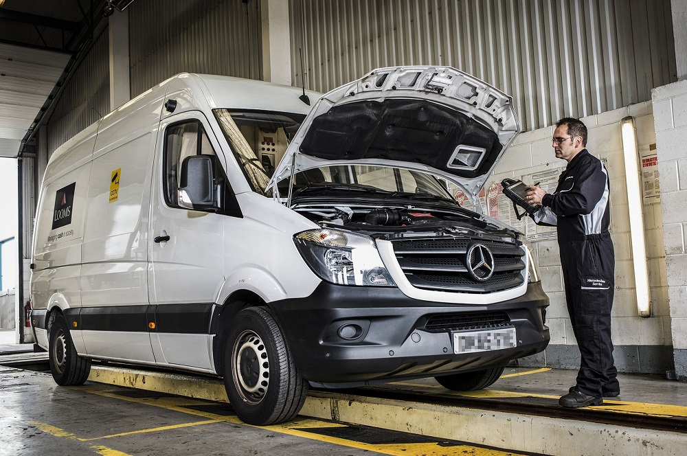 loomis locks in reliability and safety with mercedes benz service