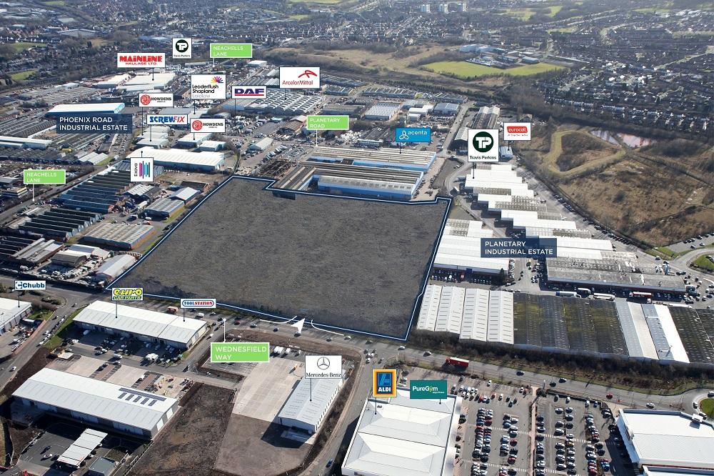 Logistics Business£20m Pantheon Park Site Ready For Construction