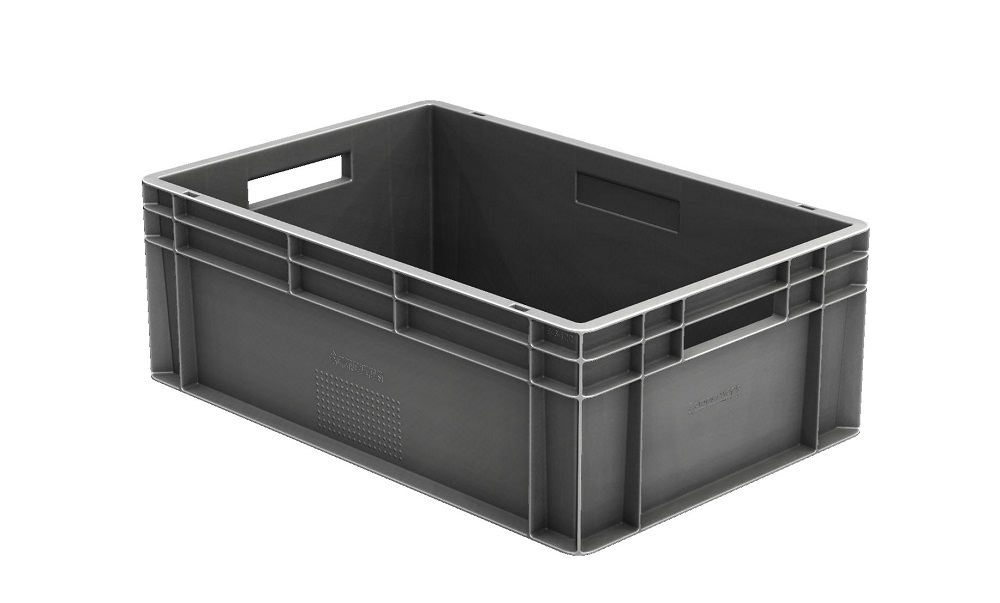 Logistics BusinessNew height Euro stacking container for automotive and engineering industries