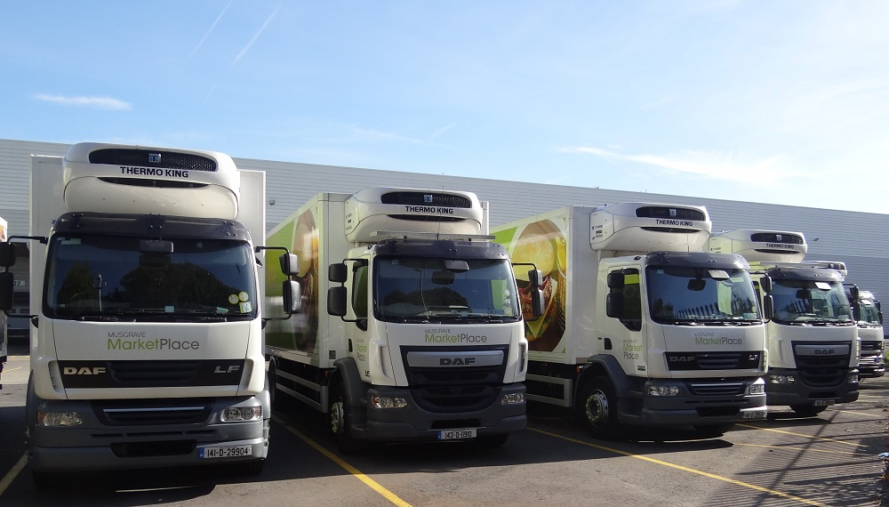 Logistics BusinessThermo King Whisper™ Technology in Musgrave Wholesale Partners' New, Quiet and Efficient Distribution Fleet