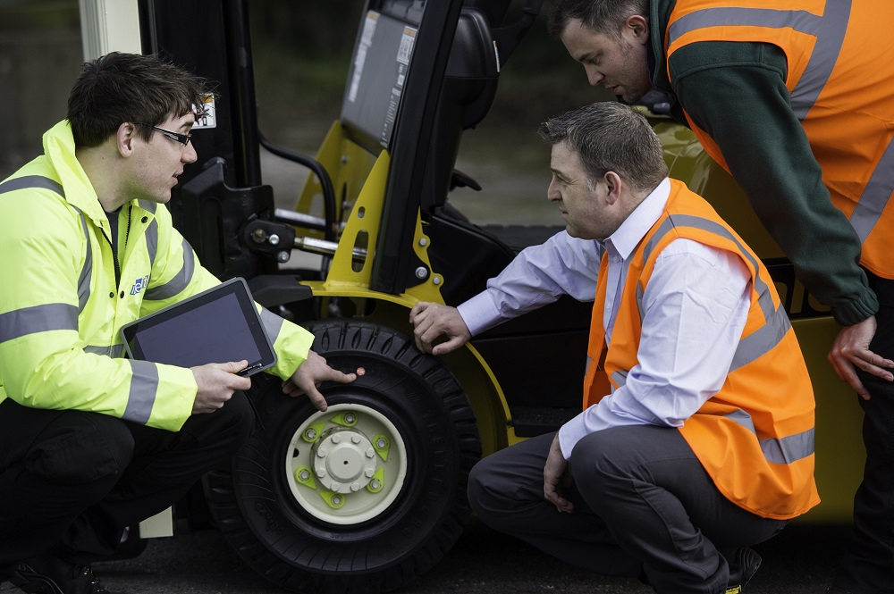Logistics BusinessKION Group Selects Trelleborg for Non-Marking Forklift Tyres