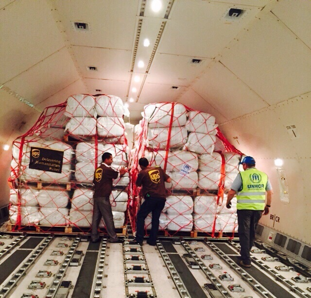 Logistics BusinessThe UPS Foundation Funds Critical UN Relief Shipments to Aid in Global Syrian Refugee Crisis