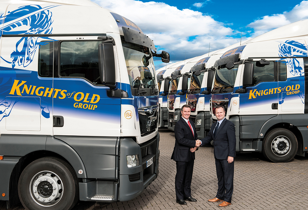 Logistics BusinessKnights of Old Group expands fleet