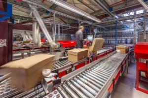 Logistics BusinessTGW delivers floating fashion for CASAMODA