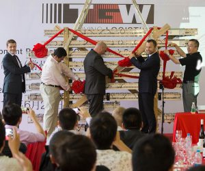 Logistics BusinessTGW celebrates opening of China production facility
