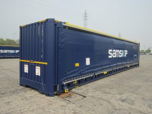 Logistics BusinessSamskip has committed to enhancing multimodal as a transport option by introducing the next generation of 45ft curtain-sided containers, after full trials of new units designed for enhanced endurance.  <br><br> The 45ft curtain-sided container meets transportation needs where ease of side access for loading and discharging of goods is a must. However, its unique advantage – the curtain sidewall – can at times also be its weakness, as it is vulnerable to damage compared to a regular 45ft container.  <br><br> Samskip has worked on improving curtain-sider specifications to achieve the twin goals of better reliability and lower repair costs. Over the last two years, two prototype curtain-sided containers, built in China, have been tested extensively across Samskip's service network.  <br><br> Enhanced features<br> The new curtain-sided container features improved damage-resistance, establishing further service reliability, through the following design enhancements:    <br><ul><li>New top rail – protecting the curtain rail from damages from top and side</li><li>New curtain-runners – top quality and able to resist very low temperatures</li><li>Stronger curtain by integrating reinforced belts</li><li>New type of ratchet (used to tighten and secure the curtain)</li><li>Additional lashing eyes inside and outside the container for better load securing</li></ul> To date, 150 curtain-sided containers have been built. Samskip intends to phase out and replace older curtain-sided containers during the second half of 2016.