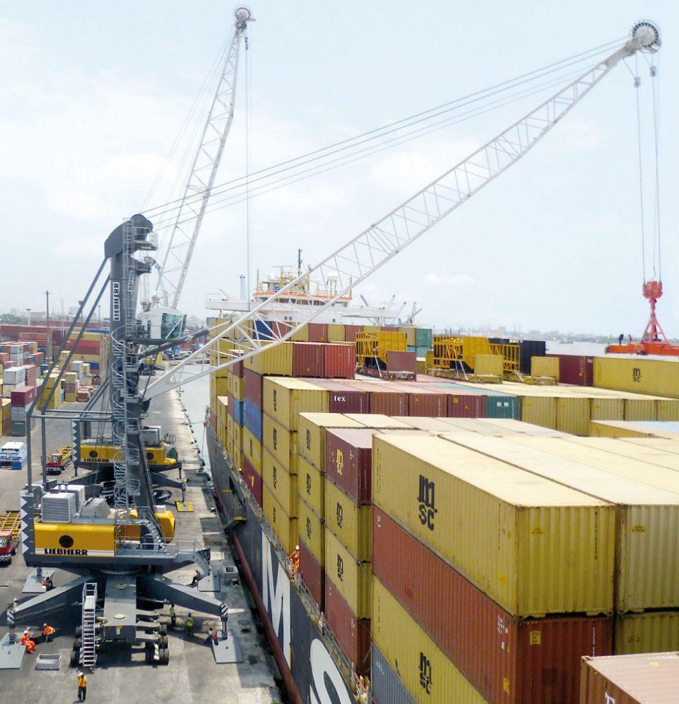 Logistics BusinessLiebherr mobile harbour cranes in over 100 countries