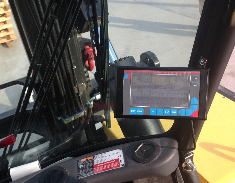Logistics BusinessForklift Weighing System Scales up Sales
