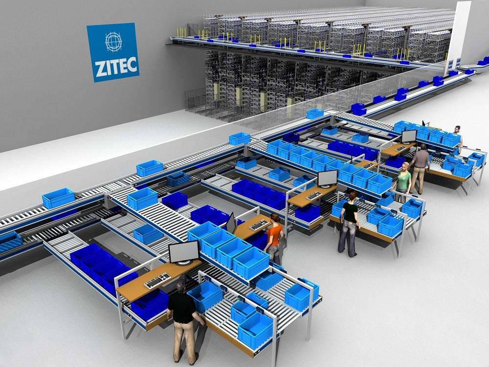 Logistics BusinessZITEC Logistics Centre achieves increased performance with TGW