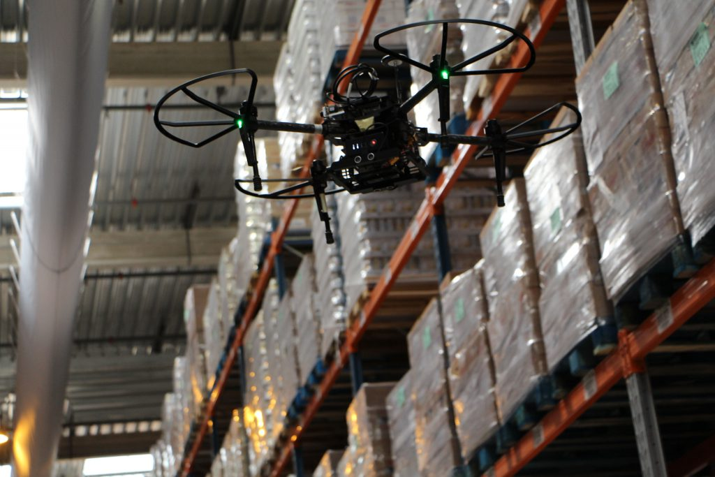 Logistics BusinessDrone-Based Warehouse Inventory System Takes Shape
