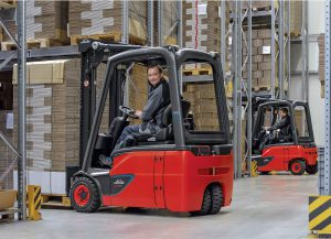 Logistics BusinessLinde Launches First Lithium-ion Counterbalanced Truck