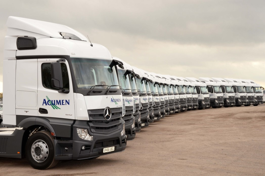 Distribution company updates fleet with mercedes tractor for Mercedes benz warehouse jobs