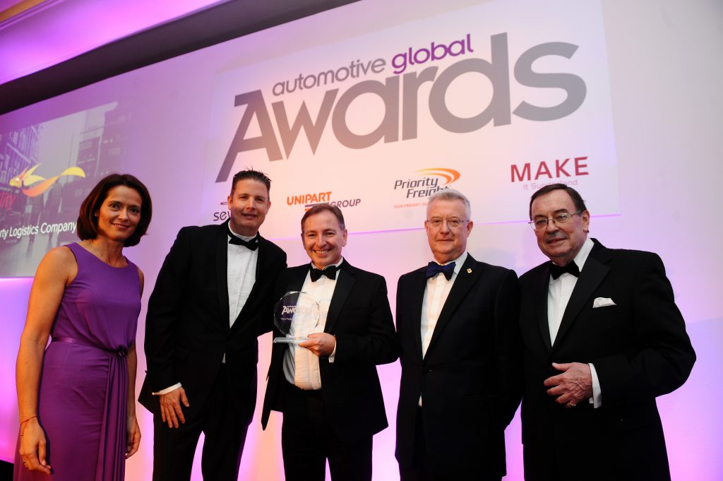 Agility Wins Global 3PL Automotive Award - Logistics