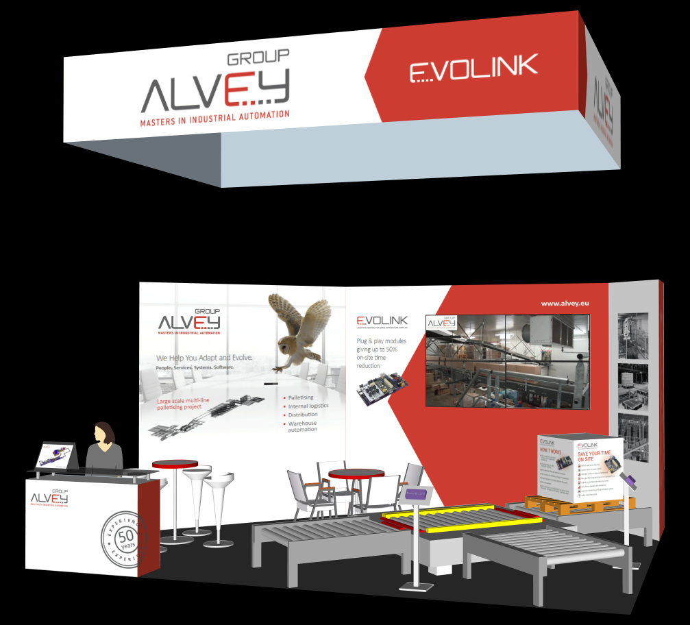 Logistics BusinessAlvey to Show EvoLink at All4Pack | Emballage in Paris