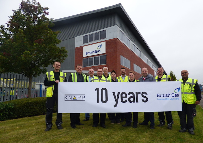 Logistics BusinessAutomated Handling System at British Gas Clocks Up 10 Years