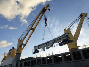 Logistics BusinessGeodis Transports Large Gantry Cranes From Poland to Canada
