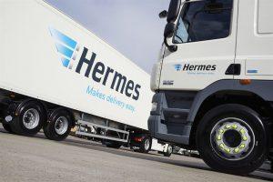 Logistics BusinessHermes Handles Record Volumes During Peak